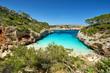 Badebucht im Norden Mallorcas, Sommer und Strand