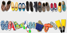 Summer Holidays, Office Shoes Colored Flip Flops, Travel