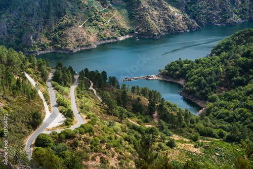 Rio Sil in Galicia, Spain