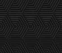 Black Textured Plastic Overlap...