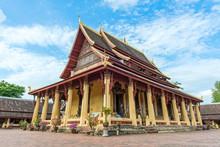 Wat Si Saket, Vientiane, Laos,...