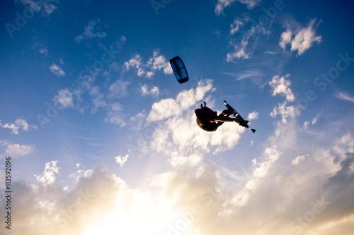 Naklejki dla dzieci  kitesurfing