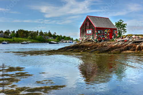 Bailey Island - Maine Canvas Print