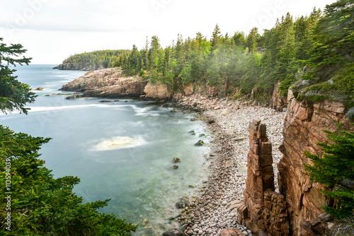 Acadia National Park Coast Canvas Print