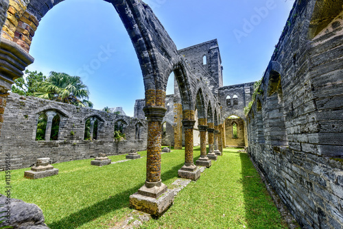 Photo Unfinished Church - Bermuda