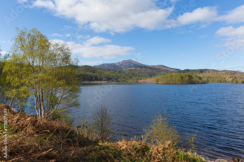 Fotografie, Obraz  Beautiful Loch Garry Scotland UK lake west of Invergarry on the A87 south of For
