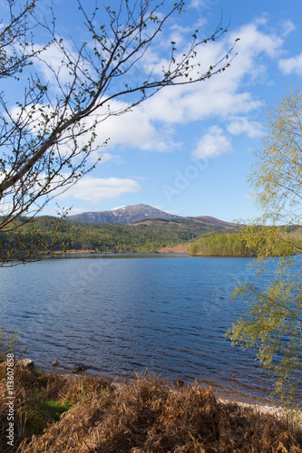 Fotografie, Obraz  Beautiful Scottish Loch Garry Scotland UK lake west of Invergarry on the A87 sou