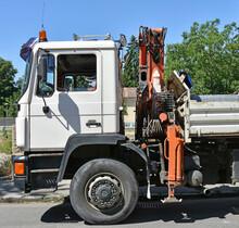 Truck With Crane