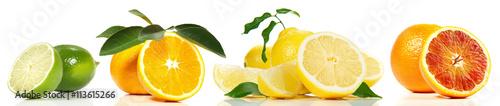 Zitrusfrüchte - Reihe