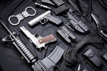 Modern Weapon, Black Background