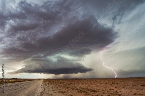 Zdjęcie XXL Supercell Burza z piorunami