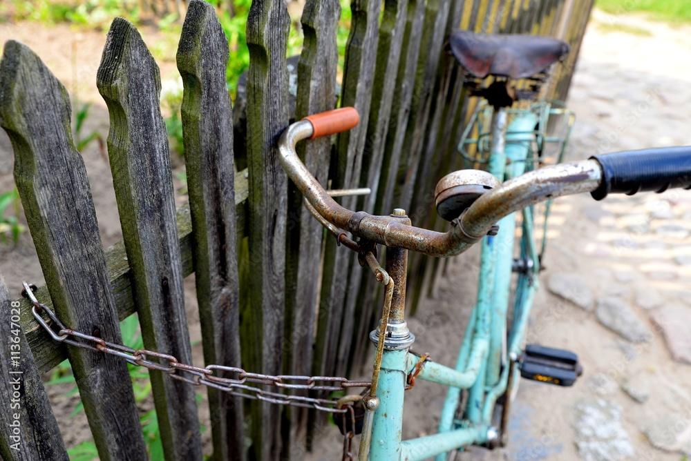 Fototapeta stary rower