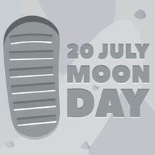 Moon Day Poster
