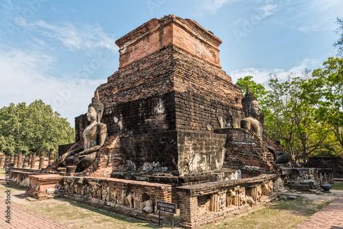 Plakat  Temple in Sukhothai historical park