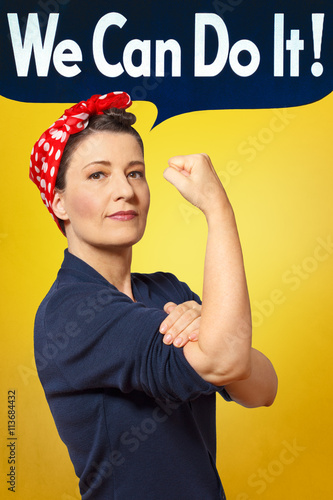 We can do it photo rosie riveter Poster