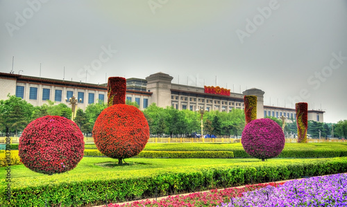 National Museum of China on Tiananmen Square in Beijing