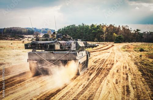 Fotografie, Tablou Kampfpanzer