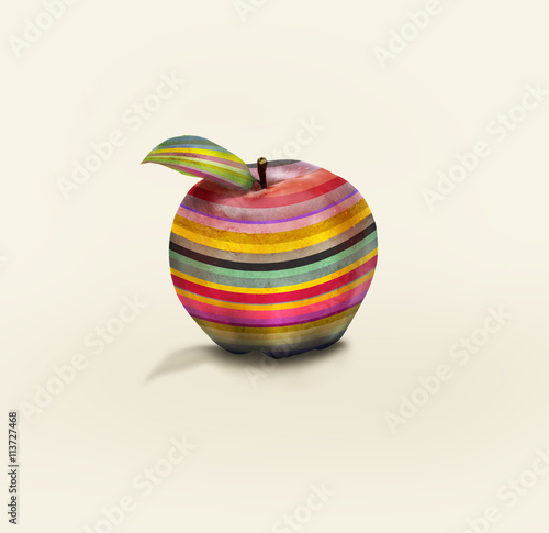 Photo sur Aluminium Surrealisme Fruit Fun
