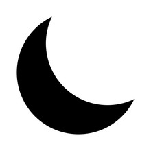 Crescent Moon Or Night / Night...