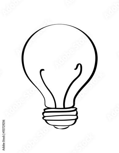 Auto Bulb Electrical Symbol