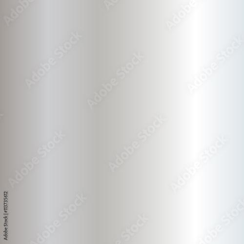 Fotografía  Silver metal plate texture