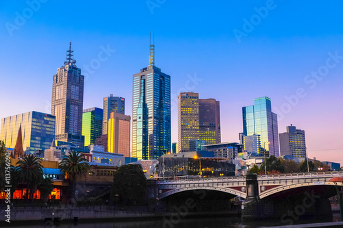 Melbourne, the capital and most populous city in the Australian state of Victoria