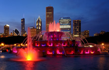 Buckingham Fountain At Night I...
