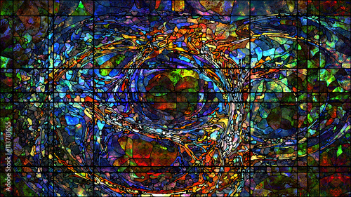 Digital Life of Stained Glass
