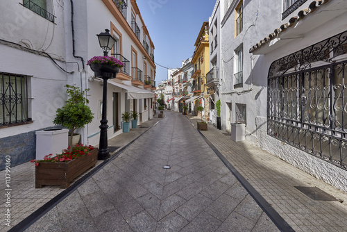 Photo sur Toile Europe Centrale Beautiful old city Marbella in Spain, Andalucia