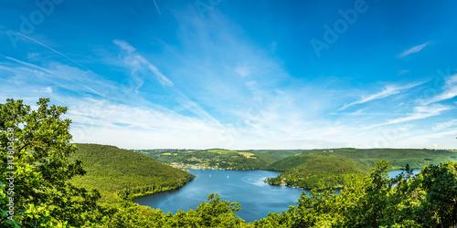 Fotografia  Panorama Rursee in der Eifel