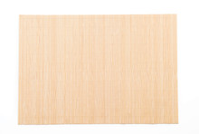 Empty Bamboo Mat