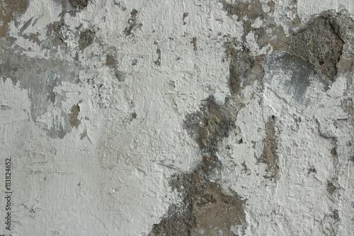 Foto auf AluDibond Alte schmutzig texturierte wand Cracked concrete wall texture background. Material construction.