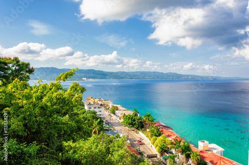 Jamaica island, Montego Bay Canvas Print