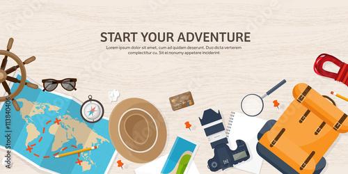 Stampa su Tela Travel and tourism