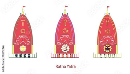 Fotografie, Obraz  Ratha Yatra Festival