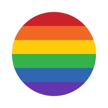 Gay Pride Movement Rainbow Cir...