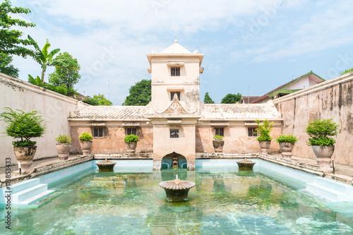 Foto auf Leinwand Schloss Taman Sari water palace of Yogyakarta on Java island