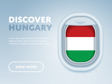 Flight To Hungary Traveling Th...