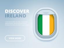 Flight To Ireland Traveling Th...