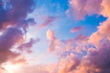 Beautiful Sunset Purple Sky