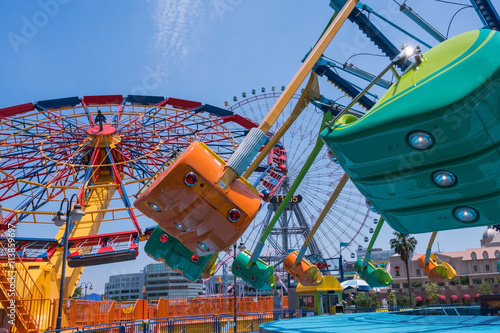 Poster Amusementspark 遊園地 横浜