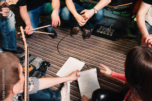 Fotografía  Music Band Training Song Discussion Teamwork Cretivity Repetition Lifestyle Conc