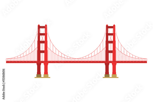 us symbol golden gate bridge vector landmark isolated over the rh stock adobe com golden gate bridge vector free download golden gate bridge vector illustrator file