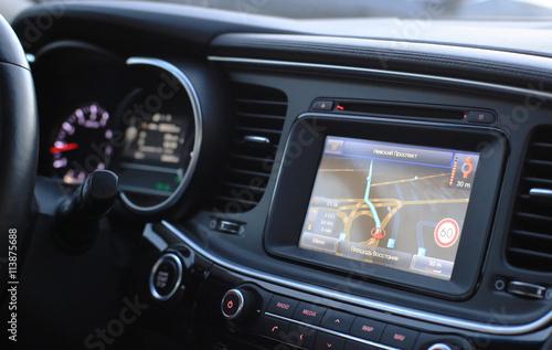 Fotografia car GPS Navigator