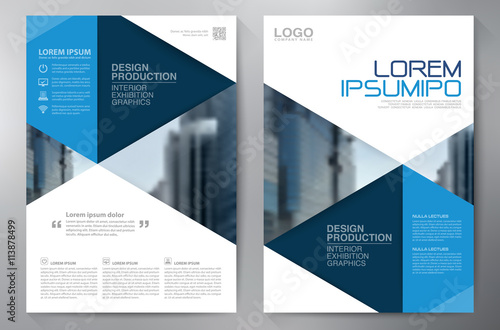 Business brochure flyer design a4 template - Buy this stock