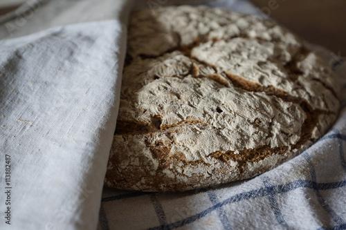 fototapeta na drzwi i meble Frisches Brot