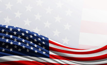 American Flag Background With ...