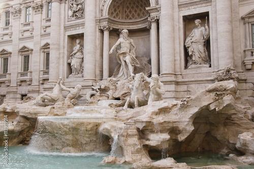 Foto op Canvas Fontaine Rome - Fontaine de Trevi