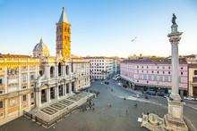 The Basilica Di Santa Maria Maggiore In Rome, Italy