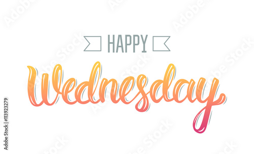 Happy wednesday Wallpaper Mural